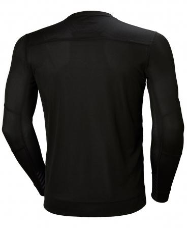 Bluza Helly Hansen Lifa Crewneck, neagra, spate