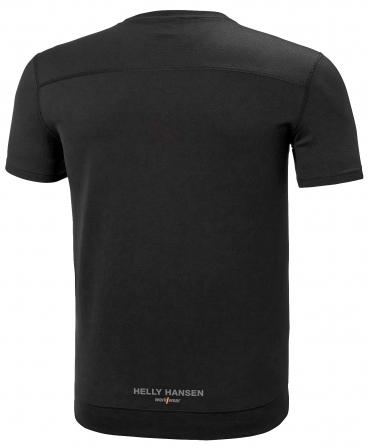 Tricou cu maneca scurta Helly Hansen Lifa Active, negru, spate