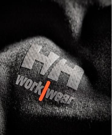 Bluza Helly Hansen Lifa Merino Crewneck, detalii material si logo