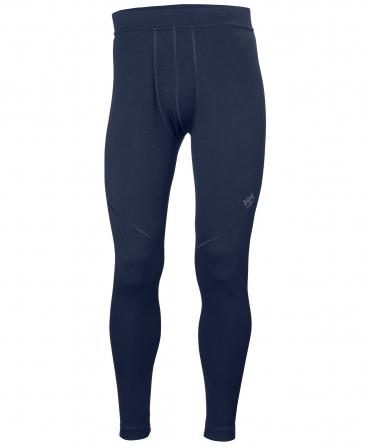 Pantaloni termo Helly Hansen Lifa Merino, bleumarin, fata