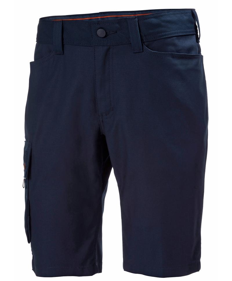 Pantaloni de lucru scurti Helly Hansen Oxford Service, bleumarin, fata