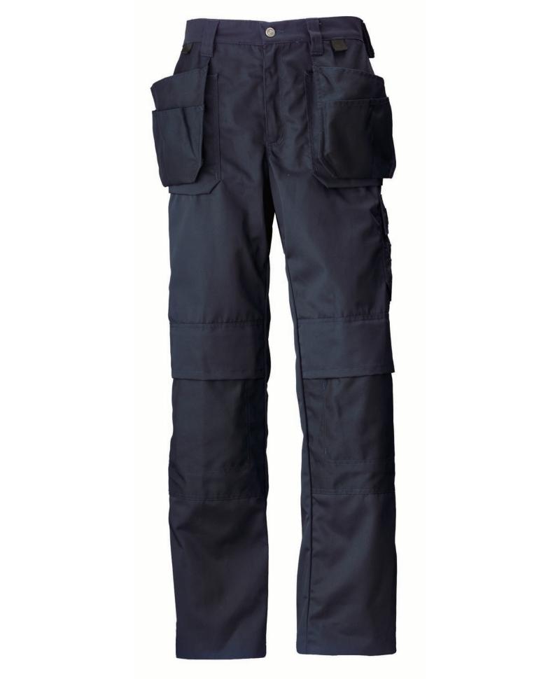 Pantaloni de lucru Helly Hansen Manchester Construction, bleumarin, fata