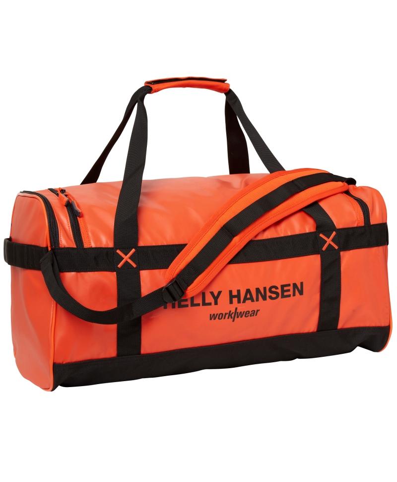 Geanta voiaj Helly Hansen Workwear 50 litri, impermeabila, portocalie, fata