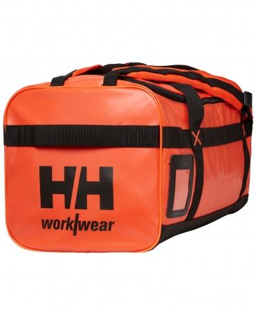 Geanta voiaj Helly Hansen Workwear 50 litri, impermeabila, portocalie, profil