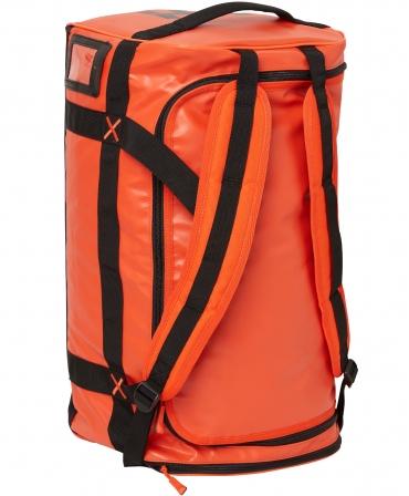 Geanta voiaj Helly Hansen Workwear 50 litri, impermeabila, portocalie, pe vertical