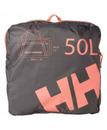 Geanta voiaj Helly Hansen Workwear 50 litri, impermeabila, portocalie, geanta suplimentara