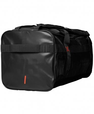 Geanta voiaj Helly Hansen Workwear 70 litri, impermeabila, neagra, din profil