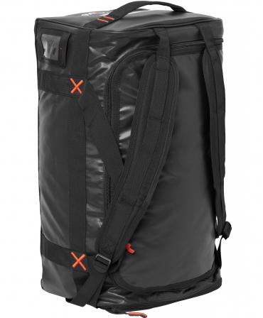 Geanta voiaj Helly Hansen Workwear 70 litri, impermeabila, neagra, pe vertical