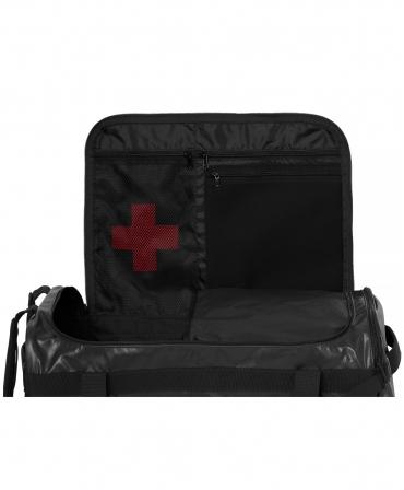 Geanta voiaj Helly Hansen Workwear 70 litri, impermeabila, neagra, compartiment