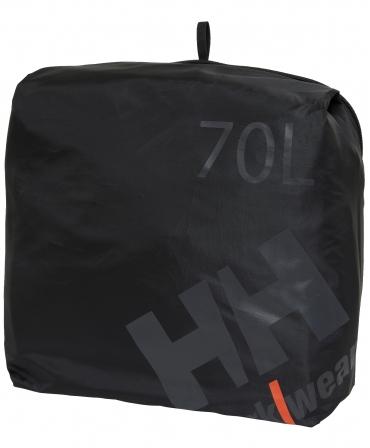 Geanta voiaj Helly Hansen Workwear 70 litri, impermeabila, neagra, geanta suplimentara
