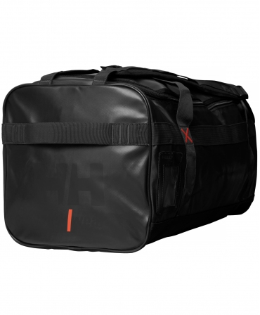 Geanta voiaj Helly Hansen Workwear 90 litri, impermeabila, neagra, din profil