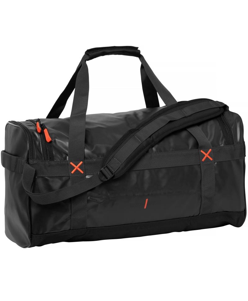 Geanta voiaj Helly Hansen Workwear 90 litri, impermeabila, neagra, fata
