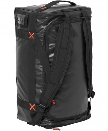 Geanta voiaj Helly Hansen Workwear 90 litri, impermeabila, neagra, pe vertical