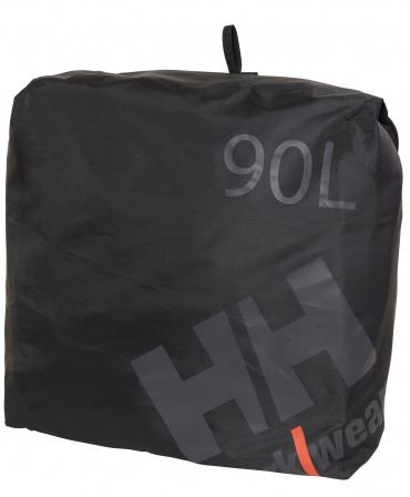 Geanta voiaj Helly Hansen Workwear 90 litri, impermeabila, neagra, geanta suplimentara