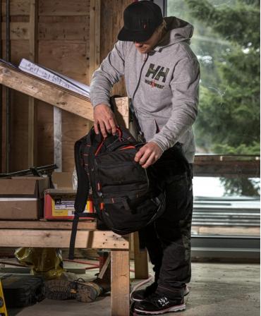 Rucsac Helly Hansen Workwear 27 litri, negru, la lucru