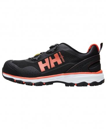 Pantofi protectie Helly Hansen Chelsea Evolution BOA, S1P, negru/portocaliu, din profil
