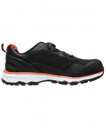 Pantofi protectie Helly Hansen Chelsea Evolution BOA, S1P, negru/portocaliu, din lateral