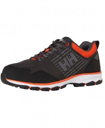 Pantofi protectie Helly Hansen Chelsea Evolution Soft Toe, O2, negru/portocaliu, din unghi
