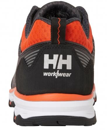 Pantofi protectie Helly Hansen Chelsea Evolution Soft Toe, O2, negru/portocaliu, spate