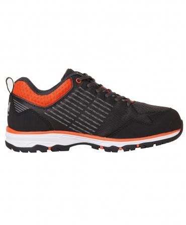 Pantofi protectie Helly Hansen Chelsea Evolution Soft Toe, O2, negru/portocaliu, din lateral