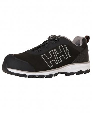 Pantofi protectie Helly Hansen Chelsea Evolution BOA Wide, S3, negru/gri, din unghi
