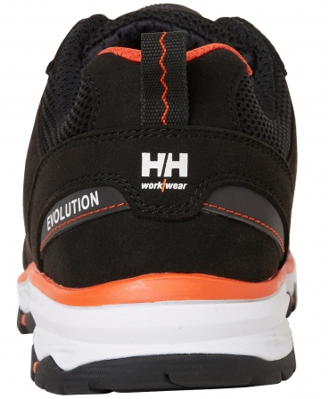 Pantofi protectie Helly Hansen Chelsea Evolution BOA Sandal, S1P, negru/portocaliu, din spate