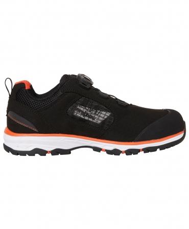 Pantofi protectie Helly Hansen Chelsea Evolution BOA Sandal, S1P, negru/portocaliu, din lateral
