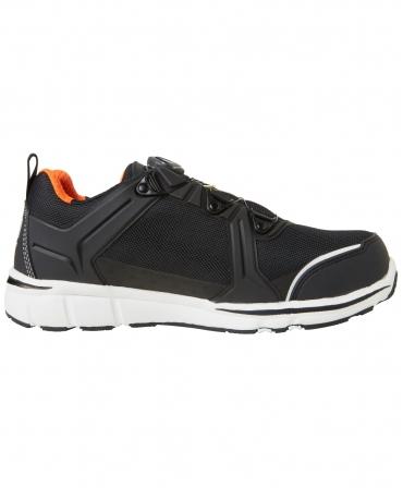 Pantofi protectie Helly Hansen Oslo Low BOA, S3, negru/portocaliu, din lateral