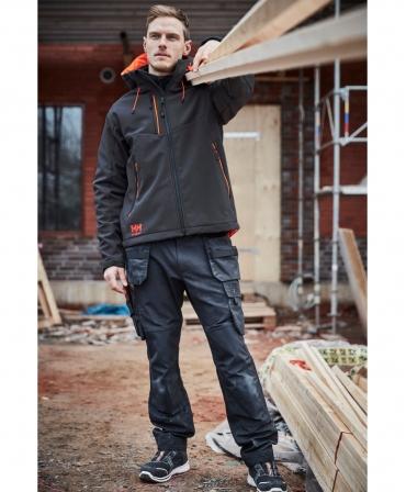 Pantofi protectie Helly Hansen Oslo Low BOA, S3, negru/portocaliu, in timpul lucrului
