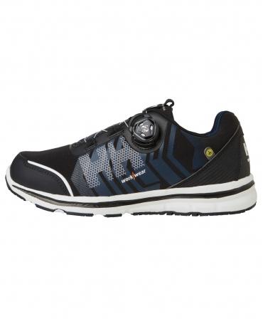 Pantofi protectie Helly Hansen Oslo Soft Toe BOA, O1, negru/albastru, din profil