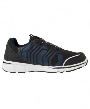 Pantofi protectie Helly Hansen Oslo Soft Toe BOA, O1, negru/albastru, din lateral
