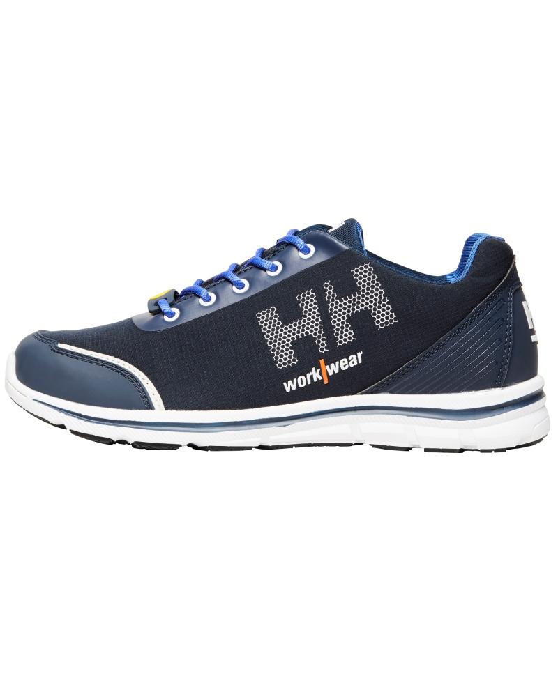 Pantofi protectie Helly Hansen Oslo Soft Toe, O1, albastri, din profil