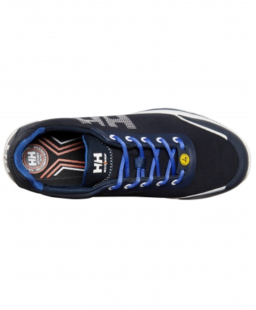 Pantofi protectie Helly Hansen Oslo Soft Toe, O1, albastri, vazuti de sus