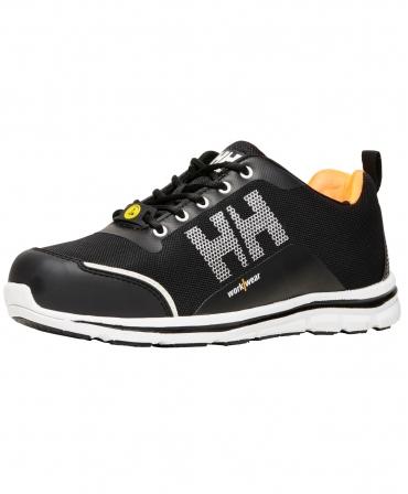 Pantofi protectie Helly Hansen Oslo Low, S1P, negru/portocaliu, din unghi