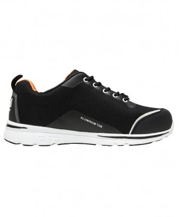 Pantofi protectie Helly Hansen Oslo Low, S1P, negru/portocaliu, din lateral