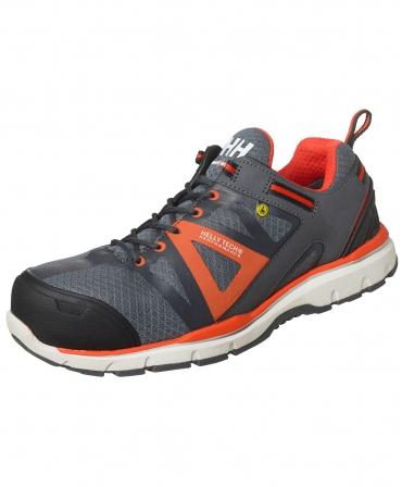 Pantofi protectie Helly Hansen Smestad Active, S3, gri/portocaliu, din unghi