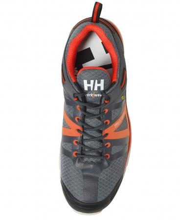 Pantofi protectie Helly Hansen Smestad Active, S3, gri/portocaliu, vazuti de sus