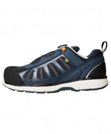 Pantofi protectie Helly Hansen Smestad BOA, S3, bleumarin/negru, din profil