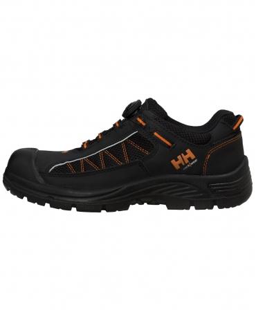 Pantofi protectie Helly Hansen Alna Mesh BOA, S3, negru/portocaliu, din profil