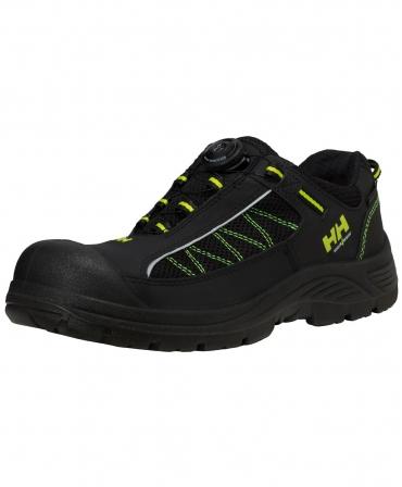 Pantofi protectie Helly Hansen Alna Mesh BOA, S3, negru/galben, din unghi