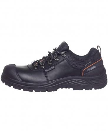 Pantofi protectie Helly Hansen Chelsea Low, S3, SRC, negru/portocaliu, din profil