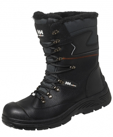 Bocanci protectie imblaniti Helly Hansen Aker Winterboot, S3, negri, din unghi