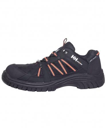 Pantofi protectie Helly Hansen Kollen Low, S3, negru/portocaliu, din profil