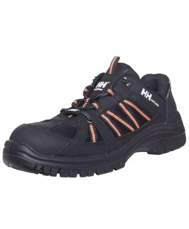 Pantofi protectie Helly Hansen Kollen Low, S3, negru/portocaliu, din unghi