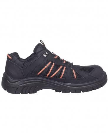 Pantofi protectie Helly Hansen Kollen Low, S3, negru/portocaliu, din lateral