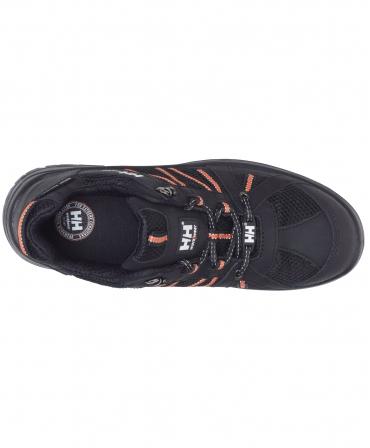 Pantofi protectie Helly Hansen Kollen Low, S3, negru/portocaliu, vazuti de sus