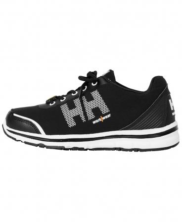 Pantofi protectie dama Helly Hansen Luna Soft Toe, O1, negru/portocaliu, din profil
