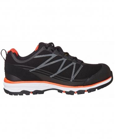 Pantofi protectie dama Helly Hansen Luna Low, S3, negru/portocaliu, din lateral