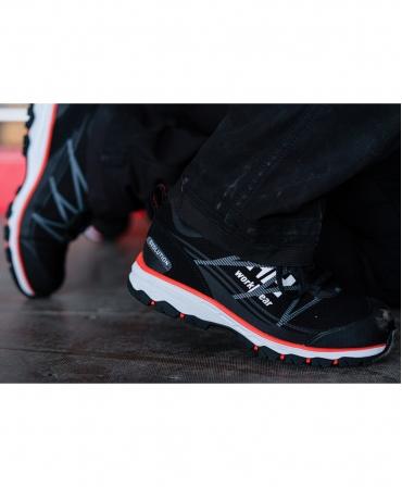 Pantofi protectie dama Helly Hansen Luna Low, S3, negru/portocaliu, incaltati, din lateral