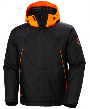 Geaca de iarna Helly Hansen Chelsea Evolution Winter, neagra, fata